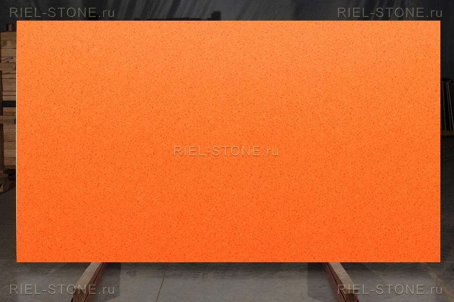 Кварцевый агломерат Cyprus Orange CO420