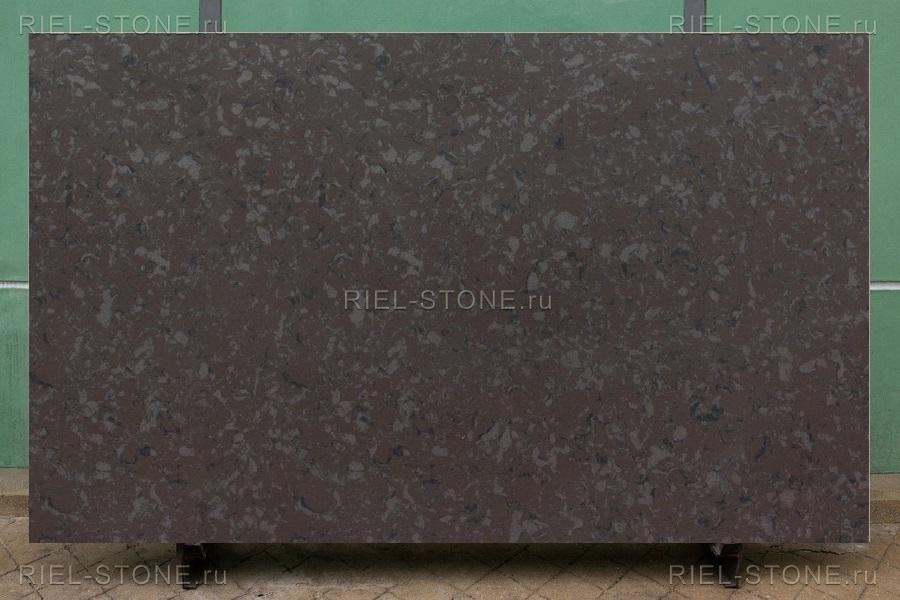 Кварцевый агломерат Titanium Brown BQ9360